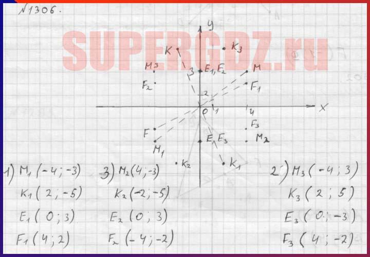 номер 1305 гдз по математике